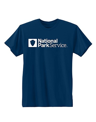 Hanes National Park Service Graphic Tee Service/Navy 2XL