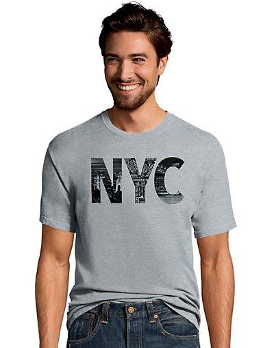 Hanes Men's NYC Graphic...