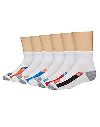 Hanes Boys Classics Ankle Socks 6-Pack 362//6