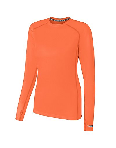 Duofold by Champion THERMatrix Women's Crew Electric Orange S