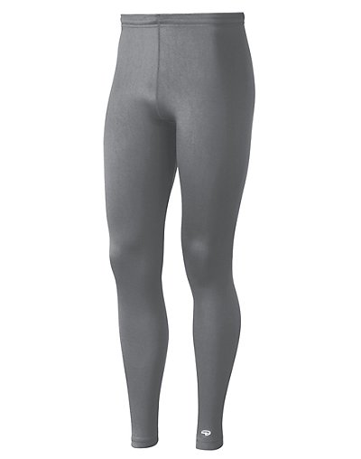 Duofold by Champion Varitherm Men's Base-Layer Thermal Pants Smoked Pearl M