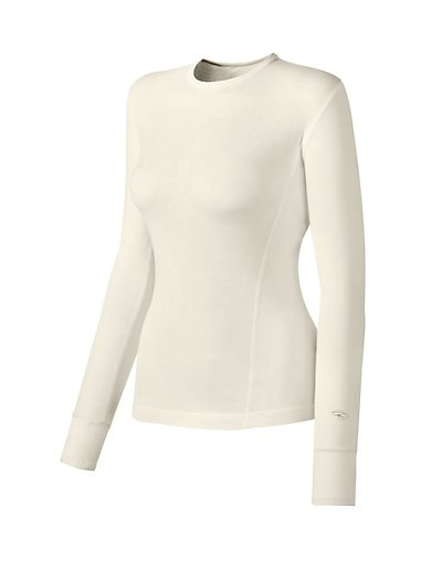Duofold by Champion Varitherm Women's Base-Layer Long-Sleeve Pearl XL