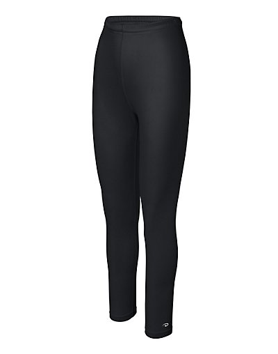 Duofold by Champion Varitherm Women's Base-Layer Thermal Pants Black L