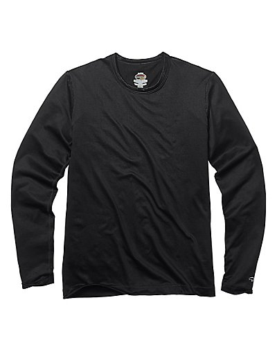 Duofold by Champion Varitherm Mid-Weight Kids' Thermal Shirt Black XS
