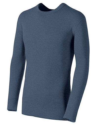 Click here for Duofold by Champion Originals Wool-Blend Mens Thermal Shirt Blue Jean 2XL prices