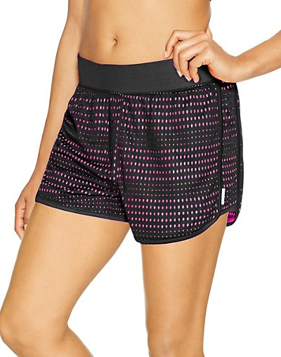 Click here for Champion Womens Mesh Shorts Black/Pinksicle L prices
