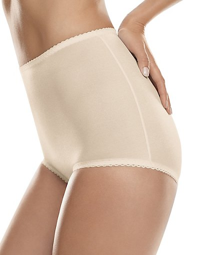 Hanes Shaping Brief 2-Pack Light Beige XL