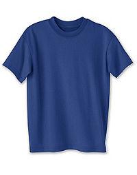 001059fce image of Hanes ComfortBlend® EcoSmart® Kids' Crewneck T-Shirt 3-Pack