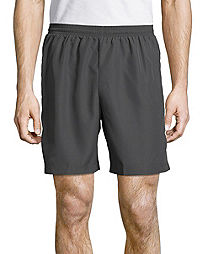 Hanes Sport™ Men/'s Mesh Pocket Shorts Style O5142 Railroad Gray L-2XL Free Ship