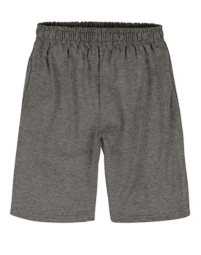 Hanes TAGLESS Boys' Jersey Shorts 2-Pack Charcoal Heather XL