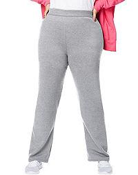 bc078508847 Just My Size ComfortSoft® EcoSmart® Fleece Open-Hem Women s Sweatpants