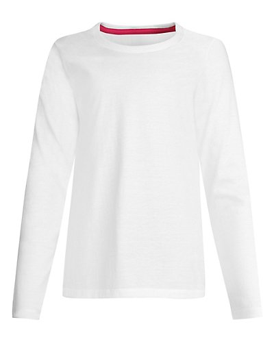 Hanes Girls' Long-Sleeve...