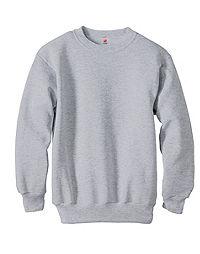image of Hanes Youth ComfortBlend® EcoSmart® Crewneck Sweatshirt with sku:350306