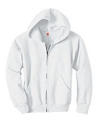 image of Hanes Comfortblend® EcoSmart® Full-Zip Kids' Hoodie Sweatshirt with sku:350520