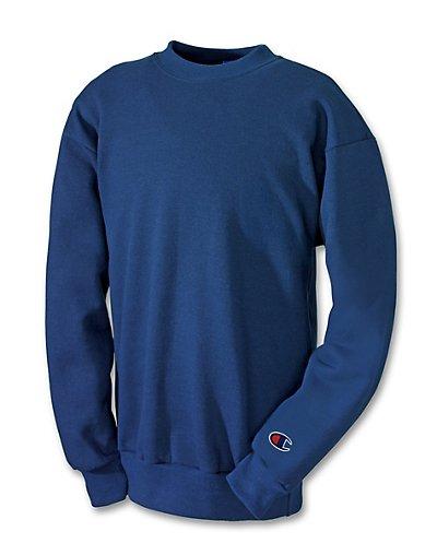 Champion Double Dry Action Fleece Kids' Sweatshirt Navy XL