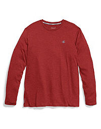 468a32e9c Men's Heather Long-Sleeve Tee | Champion