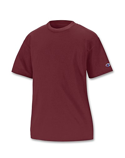 e8305748 ... UPC 011919400607 product image for Champion Double Dry Cotton-Blend Kids'  T Shirt Maroon