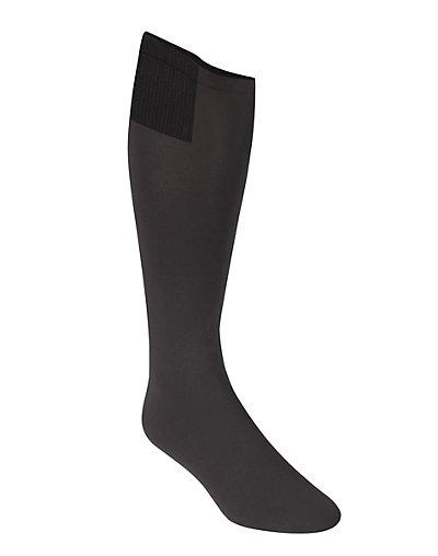 Hanes Men's Tec ComfortGear X-Temp Active Comfort Sock Black 9-12