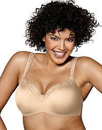 5fd3aef6bb2 Playtex Love My Curves Amazing Shape Unlined Balconette Underwire ...