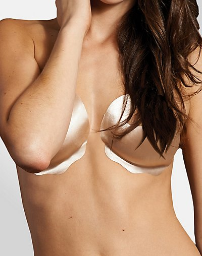 Adhesive Body Bra, 2-pack - Nude