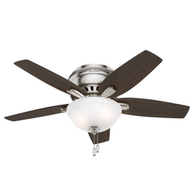 Low Profile Ceiling Fans Hugger Flush Mount Ceiling Fans Hunter Fan