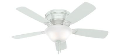 Low Profile Ceiling Fans Hugger Flush Mount Hunter Fan