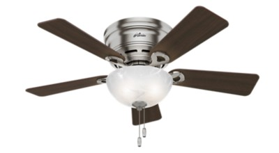 Low profile ceiling fans hugger flush mount ceiling fans low profile ceiling fans hugger flush mount ceiling fans hunter fan mozeypictures Image collections