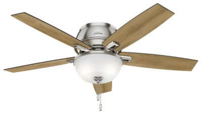 Low profile ceiling fans flush mount hunter fan aloadofball Images