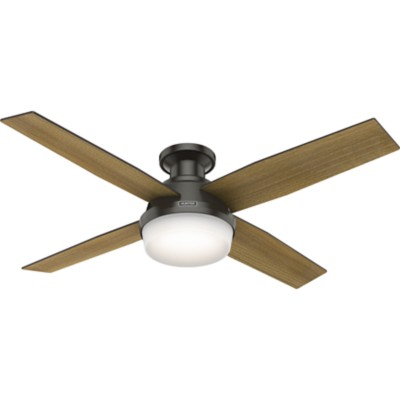 Low profile ceiling fans flush mount hunter fan aloadofball Image collections