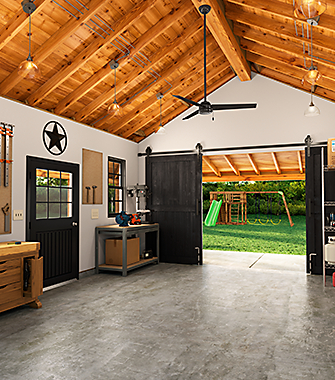 Garage with a Ceiling Fan | Hunter Fan