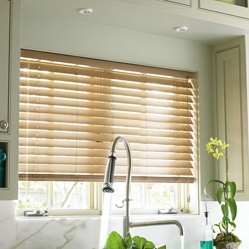 JCPenney Home™ Custom 2 Smart Faux-Wood Horizontal Blinds