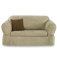 Maytex Smart Cover® Stretch Suede 2-pc. Sofa Slipcover