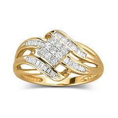 Diamond Ring 1/3 CT. T.W. 10K Gold