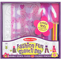 Melissa & Doug® Fashion Stencil Set