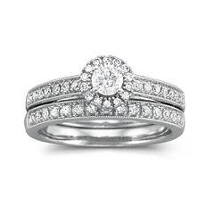 I Said Yes™ 1/2 CT. T.W. Certified Diamond Bridal Set
