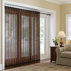JCPenney HomeTM Naples Grommet Top Bamboo Panel