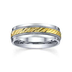 Stainless Steel Ring, Womens 6mm