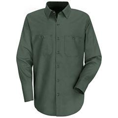 Red Kap® Industrial Solid Work Shirt