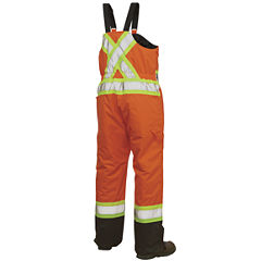 Work King High-Visibility Insulated Overalls