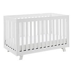 Status Beckett 3 in 1 Convertible Crib - White