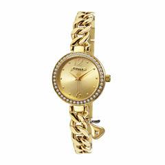Hershey Kisses Womens Gold Tone Bracelet Watch-Ks007gd