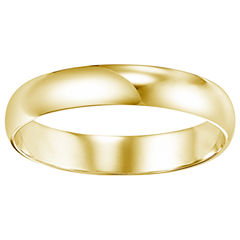 Unisex 14K Gold Wedding Band