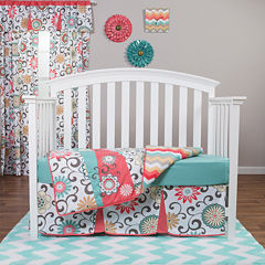 Trend Lab® Waverly Pom Play 4-pc. Baby Bedding Set