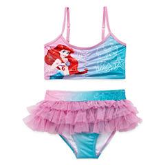 Disney Girls Disney Princess Tankini Set - Toddler