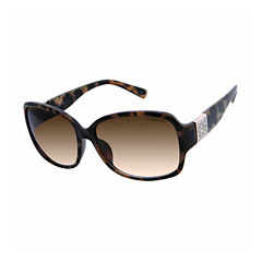 Liz Claiborne Full Frame Square UV Protection Sunglasses-Womens