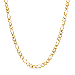 Made In Italy Gold Over Silver 18 Inch Chain Necklace