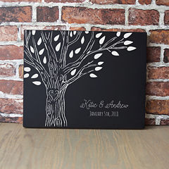 Cathy's Concepts Personalized Family Tree Chalkboard