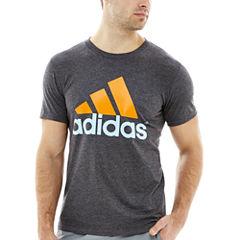 adidas® Short-Sleeve Adilogo Tee