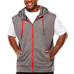 The Foundry Big & Tall Supply Co. Short Sleeve Hoodie-Big and Tall