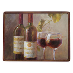 Manorcraft by Pimpernel® Open the Wine Set of 4 Cork-Baked Placemats